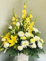 Sunshine Remembrance by TLS FLorist