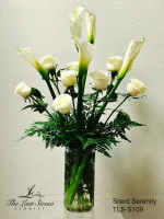 Silent Serenity by TLS Florist