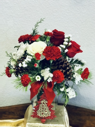 Christmas Joy by TLS Florist