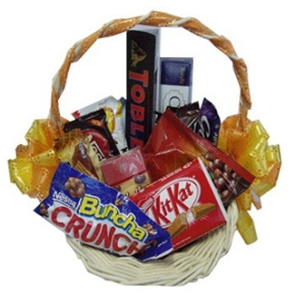 The Chocolate Goodie Basket