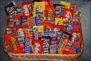 The King of Chocolate Candy Baskets