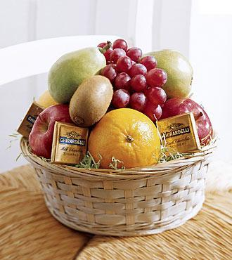 The Fruit and Chocolate Basket
