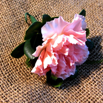 Carnation Boutonniere, corsages & boutonnieres