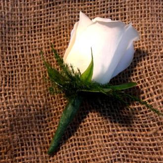 Rose Boutonniere, corsages & boutonnieres