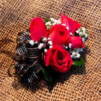 Spray Rose Corsage, corsages & boutonnieres
