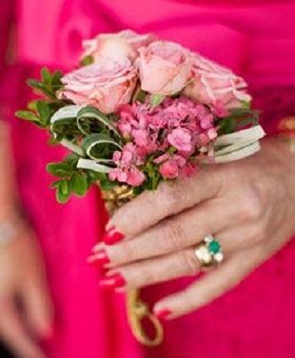 Pink Rose Nosegay