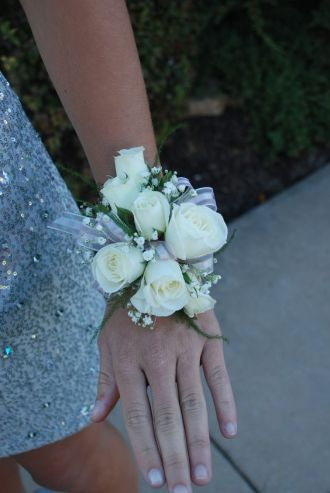 Classic Rose Corsage