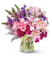 Royal Radiance, roses, peonies, lilies, tulips, top of the line