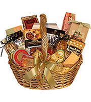 Taster's Delight, cookies, chocolates, nuts, cheeses, crakers, cider, coffee, tea, preserves, candies, birthday, congratulations, get well, gourmet baskets, corporate gifts