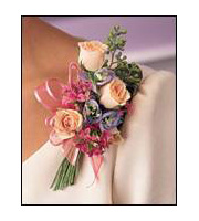 French Corsage (6 blooms), corsages & boutonnieres