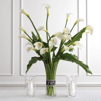 Calla Lily Arrangement, wedding ceremony