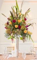 Earthly Delight Wedding Centerpice
