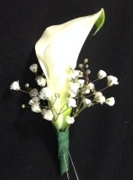 Beautiful Calla Lily Boutonniere