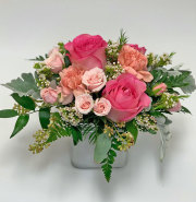 Sweet Pink and Peach Bouquet