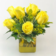 6 Yellow Rose Bouquet