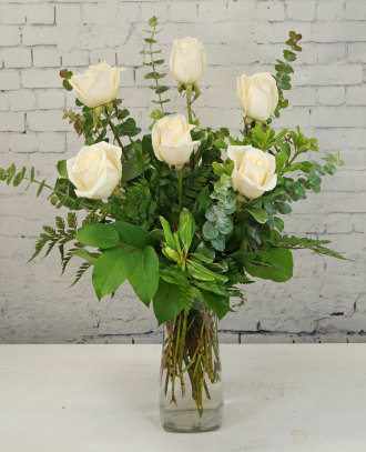 Morning Elegance Rose Bouquet