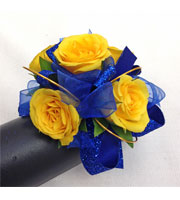 Primary Sparkle Wrist Corsage