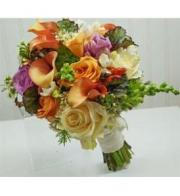 Summer Garden Bridal Bouquet