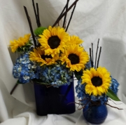 Sunflower and HydrangeaSet