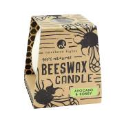 Avocado & Honey Beeswax Candle