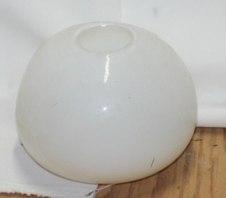 Rental White Glass Egg Vase