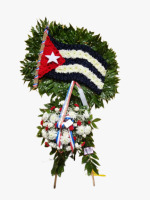 THE CUBAN FLAG SPRAY