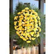 LA203 Yellow Memorial Spray