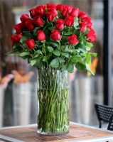 4 DZ Red Roses