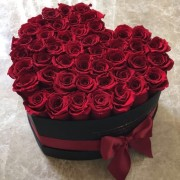 Heart Rose Box