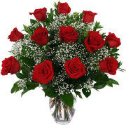 Traditional Red Roses