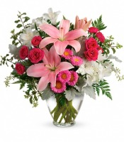 Teleflora's Blush Rush Bouquet