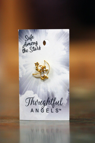 Safe Among The Stars Pin