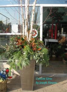 Winter Wonderland Outdoor Arrangement