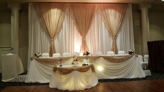 MGM Wedding Decor