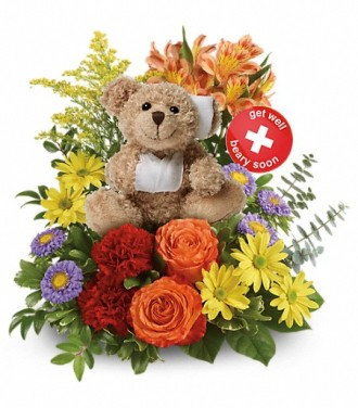 Beary Well Bear Bouquet