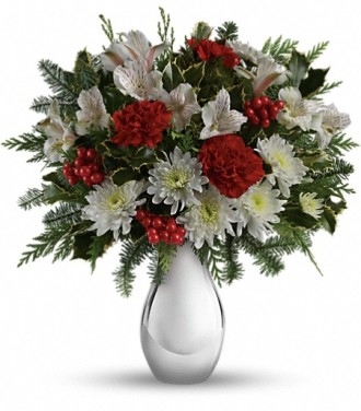 The Silver And Snowflakes Bouquet