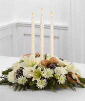 Winter Glow Centerpiece