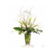 CARISMA FLORISTS® White, Cream & Pink Vase
