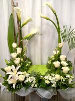 Calla Urn Arrangement
