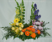 colourful Urn Arrangement