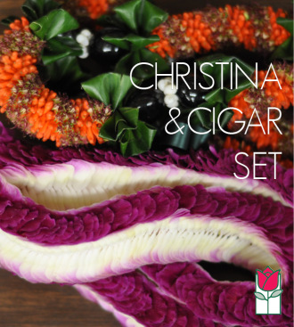 Christina & Cigar Lei Set