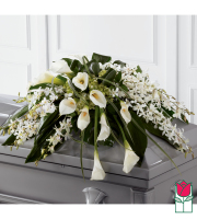Beretania's Angelic Casket Spray