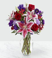 Le bouquet Stunning Beauty™ de FTD® - VASE INCLUS