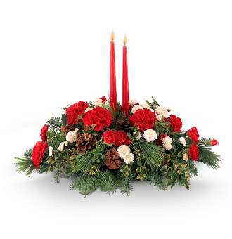 The FTD® Lights Of The Season™ Centerpiece