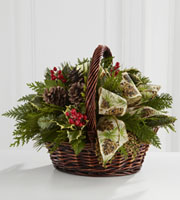 The FTD® Christmas Coziness™ Bouquet