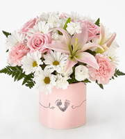 The FTD® Tiny Miracle™ New Baby Girl Bouquet