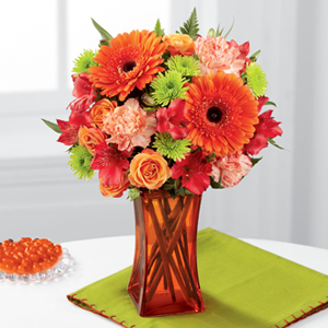 The FTD® Orange Escape™ Bouquet