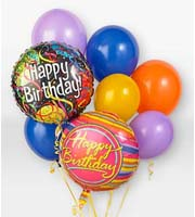 Find and Send HELIUM MYLAR AND LATEX BALLOON BIRTHDAY Bouquets TODAY in Greater Grand Rapids with Sunnyslope Floral
