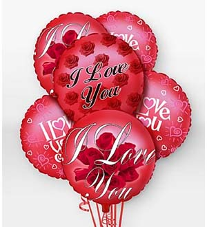 Send mylar & latex balloons for an anniversary for a man or lady in Grand Rapids, Holland, Rockford, Zeeland or nation wide with Sunnyslope Floral