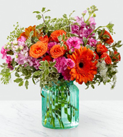 Aqua Escape™ Bouquet by FTD® - VASE INCLUDED